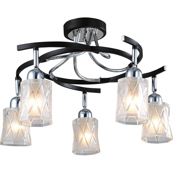 Потолочная люстра N-Light N-Light 8940 89402-5 chrome + wengue yas5 5 n
