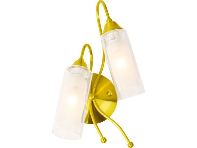 Настенное бра N-Light N-Light B-423 B-423/2 (P-383) satin gold цена