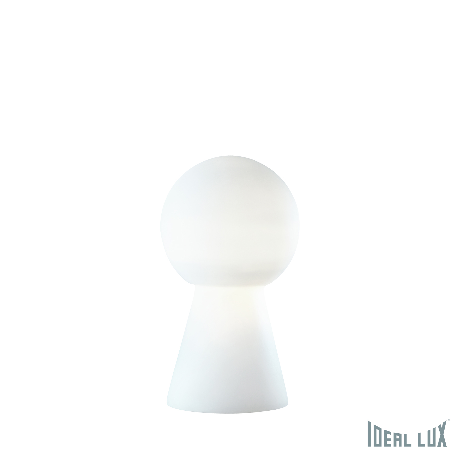 Настольная лампа Ideal Lux Birillo BIRILLO TL1 MEDIUM BIANCO настольная лампа ideal lux birillo tl1 small fume 116570