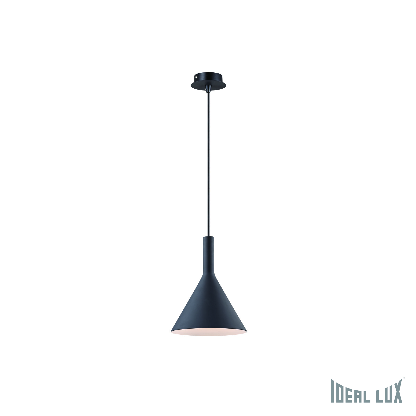 Светильник подвесной Ideal Lux Cocktail COCKTAIL SP1 SMALL NERO namat подвесной светильник ideal lux flut sp1 small nero