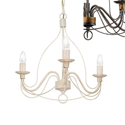 Подвесная люстра Ideal Lux Corte CORTE SP3 RUGGINE ideal lux люстра ideal lux queen sp3