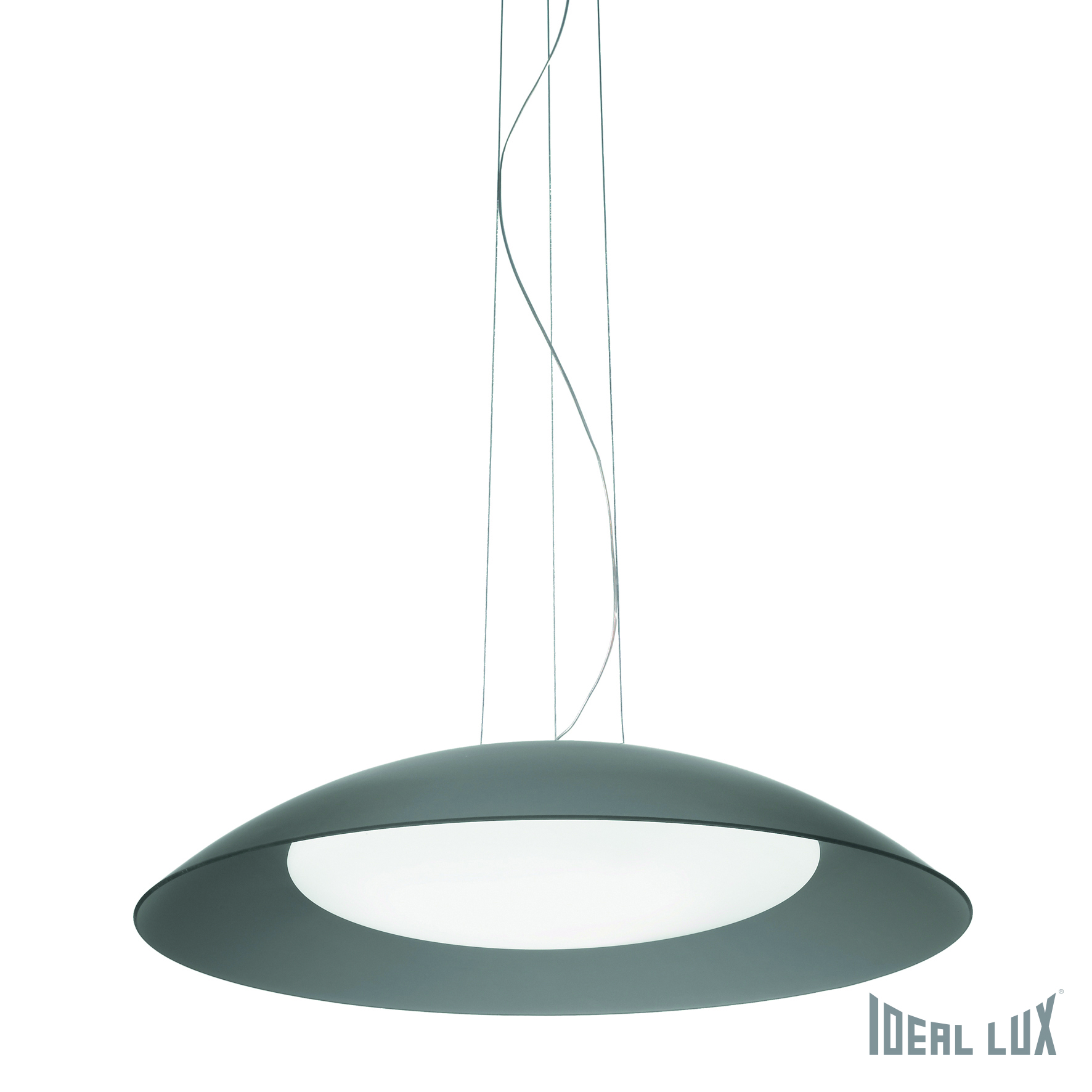 Светильник подвесной Ideal Lux Lena LENA SP3 D64 GRIGIO ideal lux люстра ideal lux le roy sp3