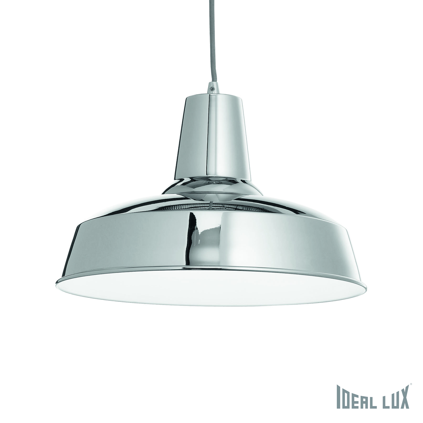 Светильник подвесной Ideal Lux Moby MOBY SP1 CROMO спот citilux сфера cl532522