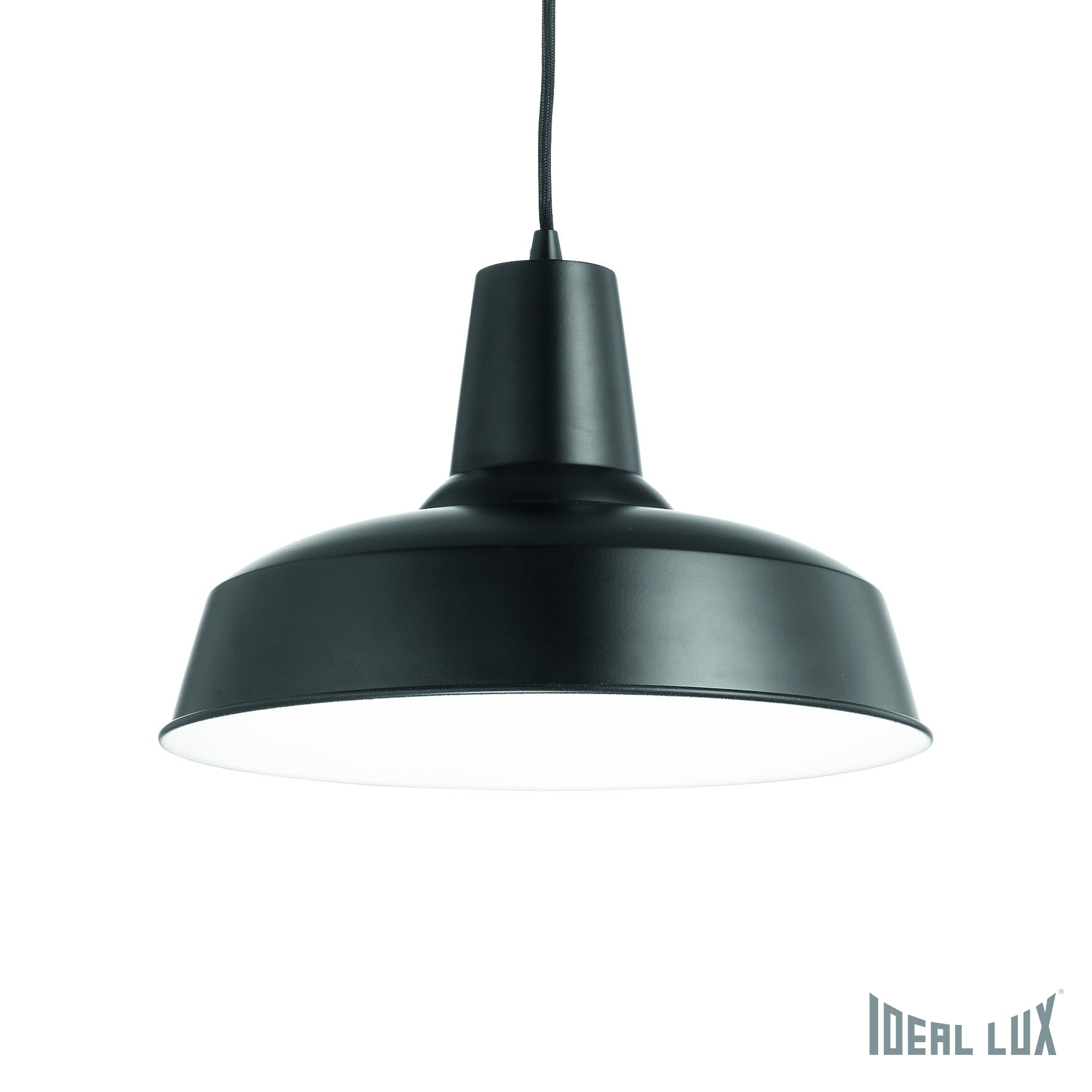 Светильник подвесной Ideal Lux Moby MOBY SP1 NERO