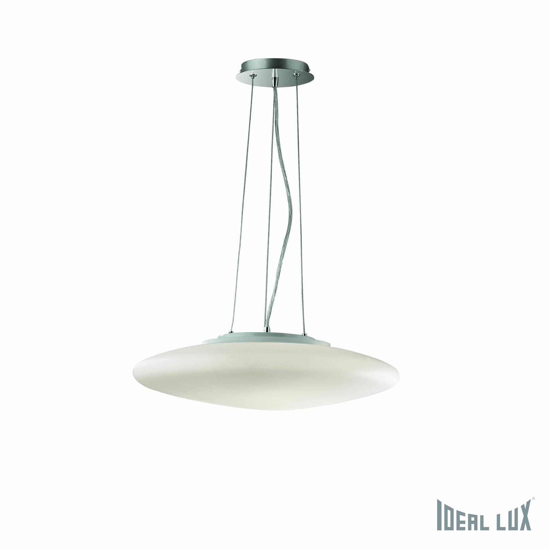 Светильник подвесной Ideal Lux Smarties SMARTIES BIANCO SP3 D40 ideal lux люстра ideal lux le roy sp3