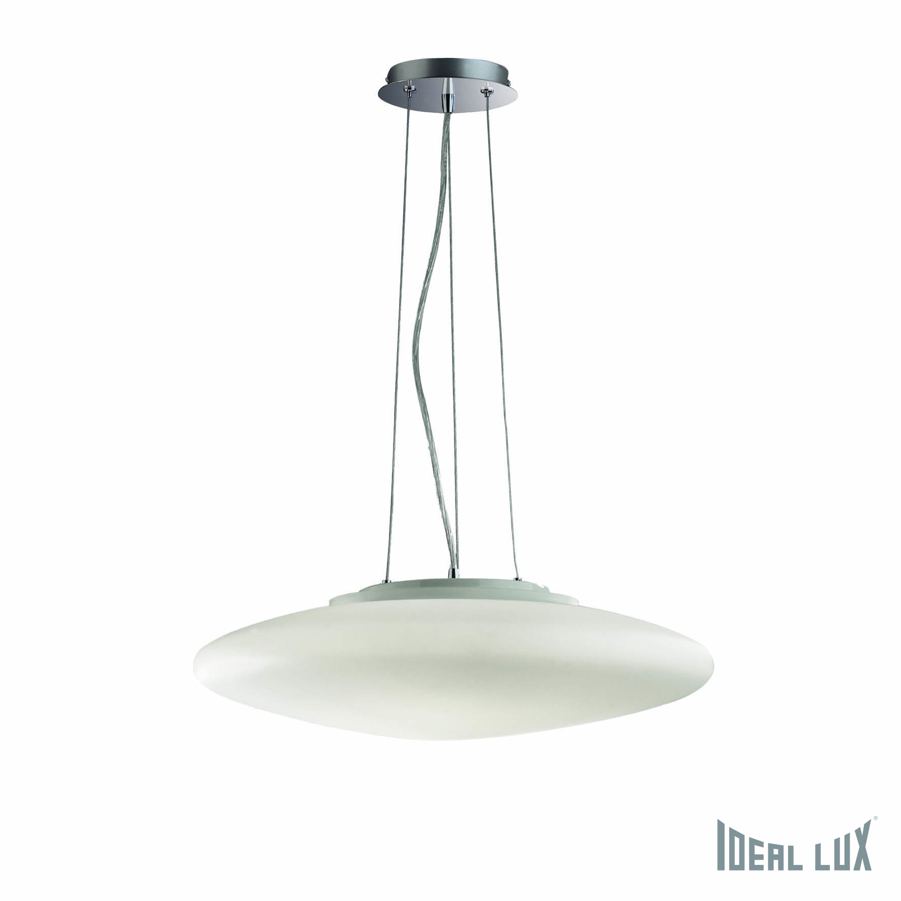 Светильник подвесной Ideal Lux Smarties SMARTIES BIANCO SP3 D50 ideal lux люстра ideal lux le roy sp3