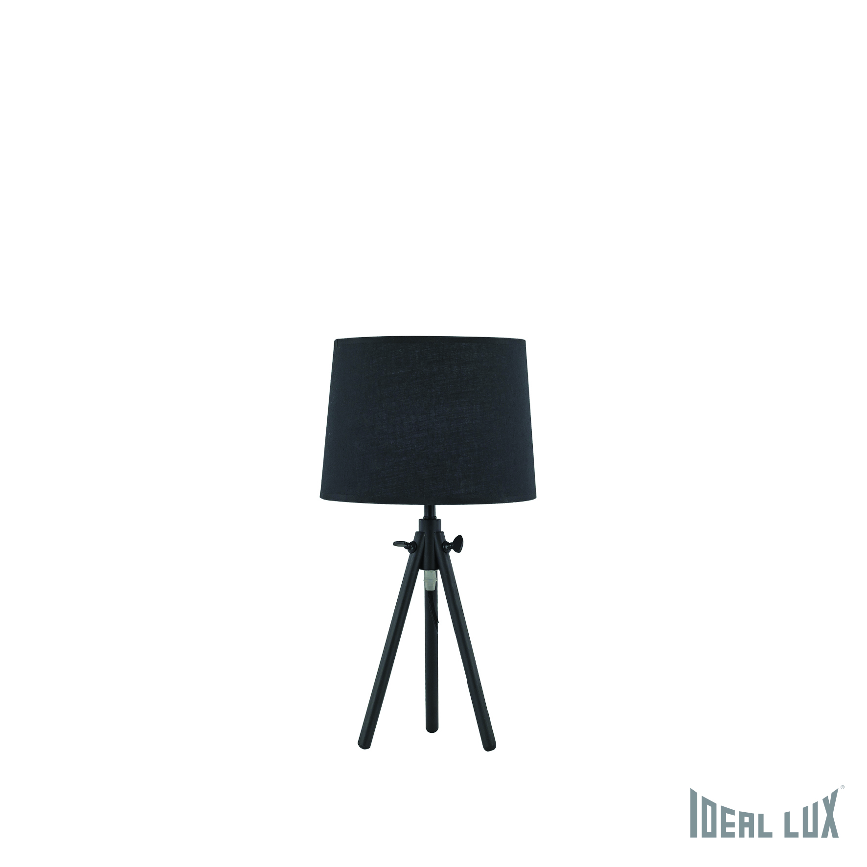 Настольная лампа Ideal Lux York YORK TL1 SMALL NERO настольная лампа ideal lux birillo tl1 small fume 116570