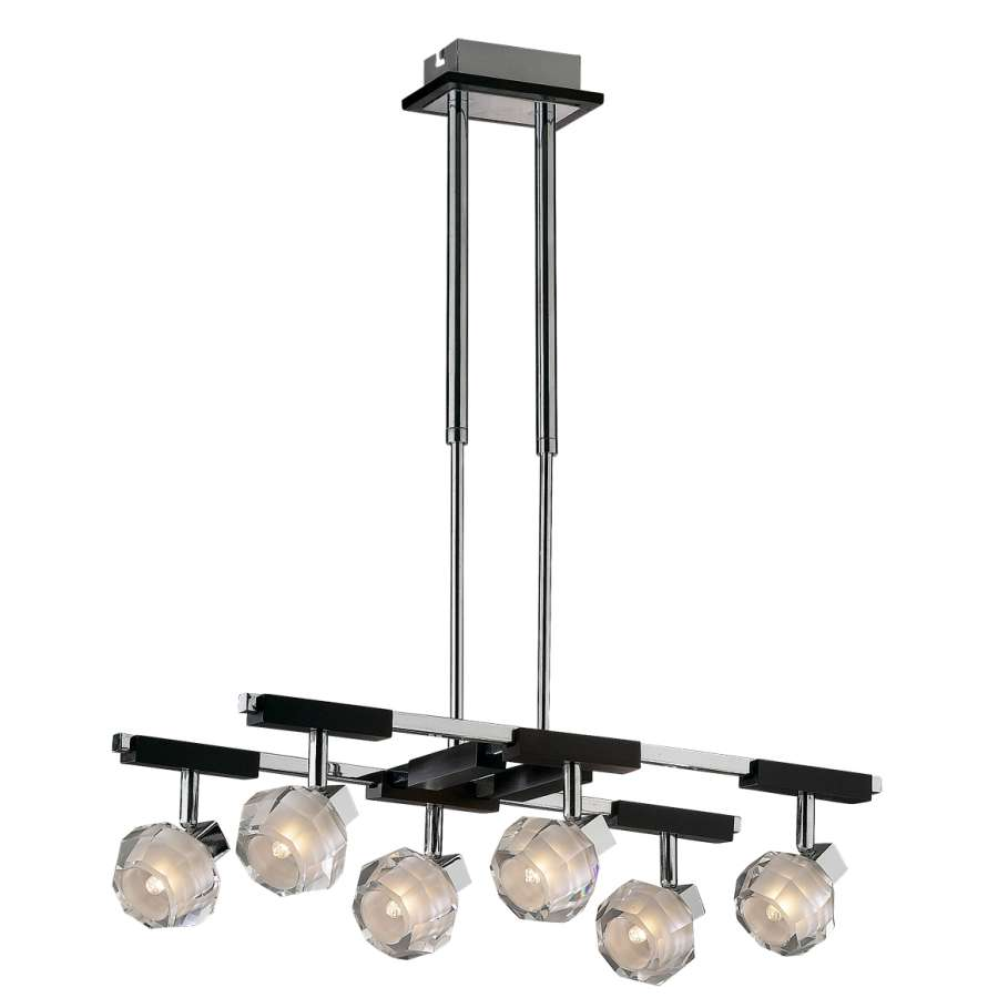 Люстра на штанге Odeon Light Valensa 1245/6C потолочная люстра odeon light crea color 2598 6c