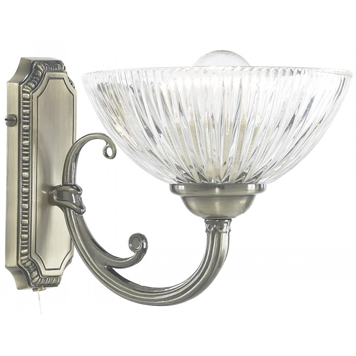 Настенное бра Arte Lamp WINDSOR CLEAR A3778AP-1AB