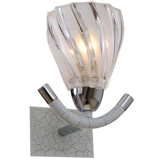 Настенное бра N-Light N-Light 407 407-01-11CWC chrome + white crack цена