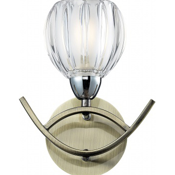 Настенное бра N-Light N-Light 406 406-01-11 chrome + antique br 406