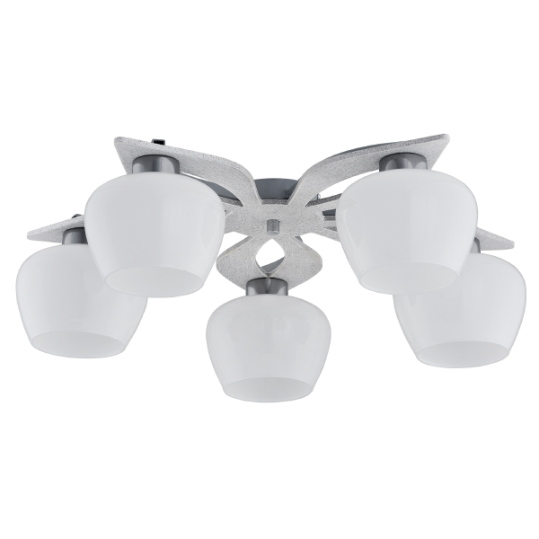 Потолочная люстра TK Lighting Daisy 222 Daisy White 5 double daisy